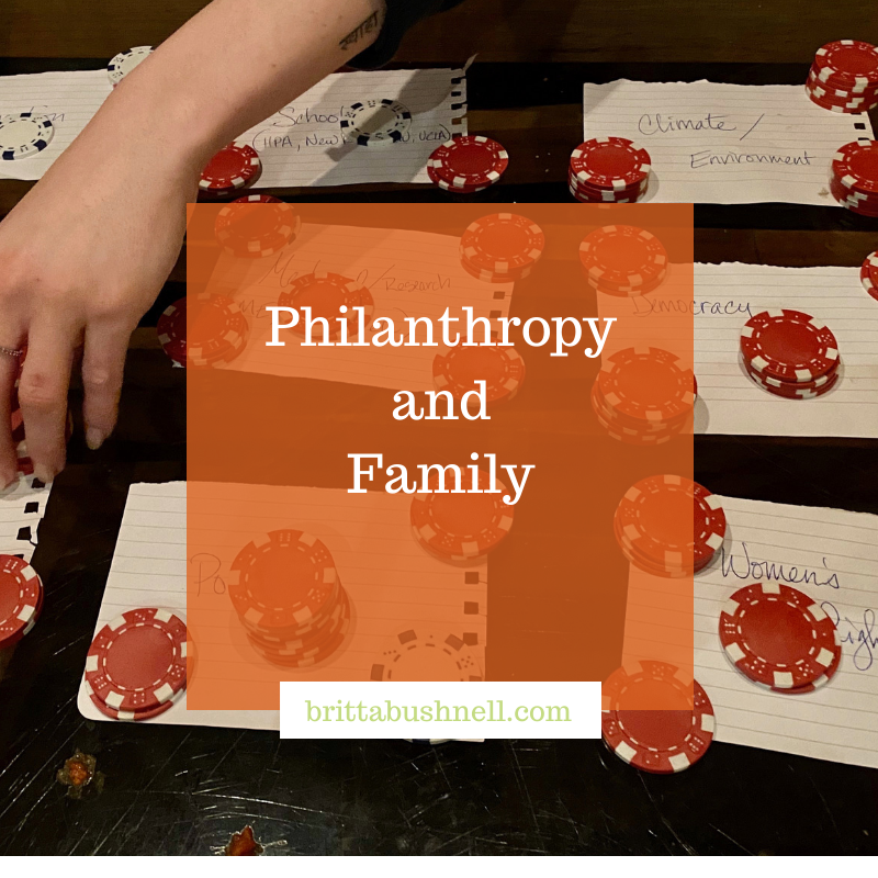 Philanthropy and Family